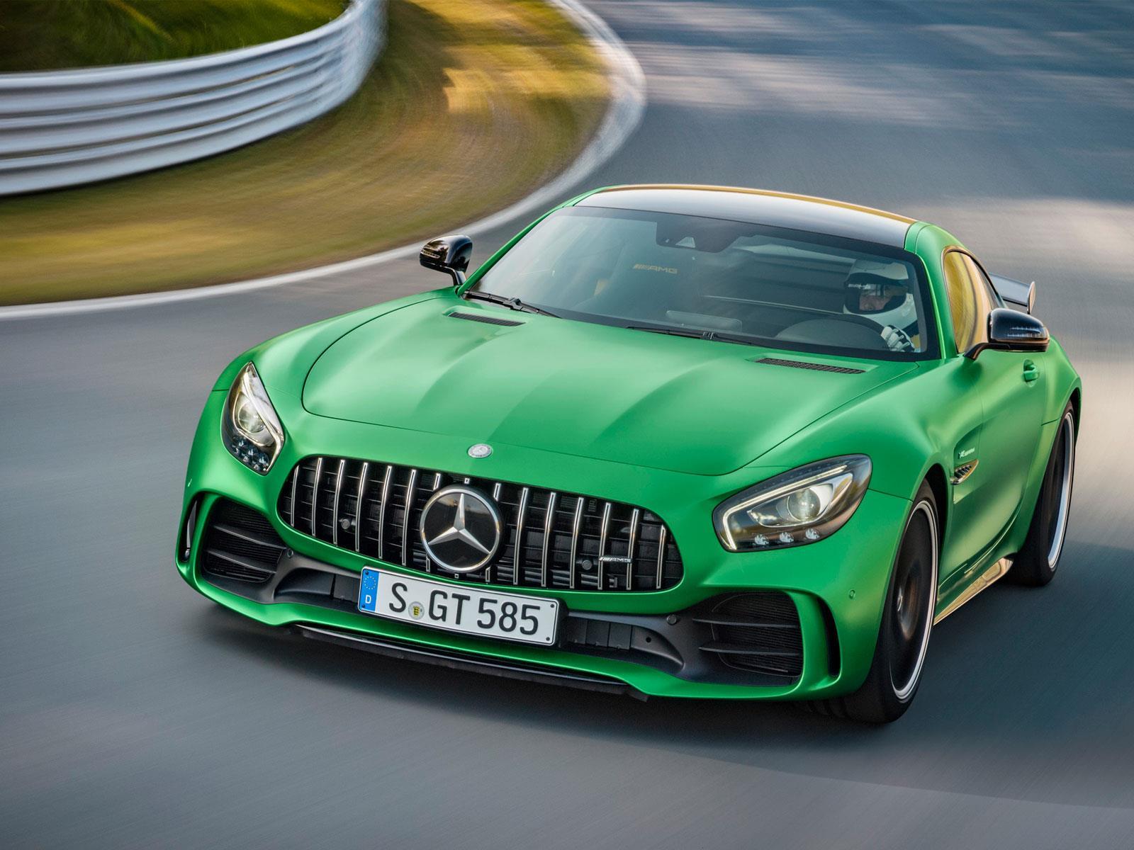 Mercedes-AMG GT R, el infierno es verde - Autocosmos.com