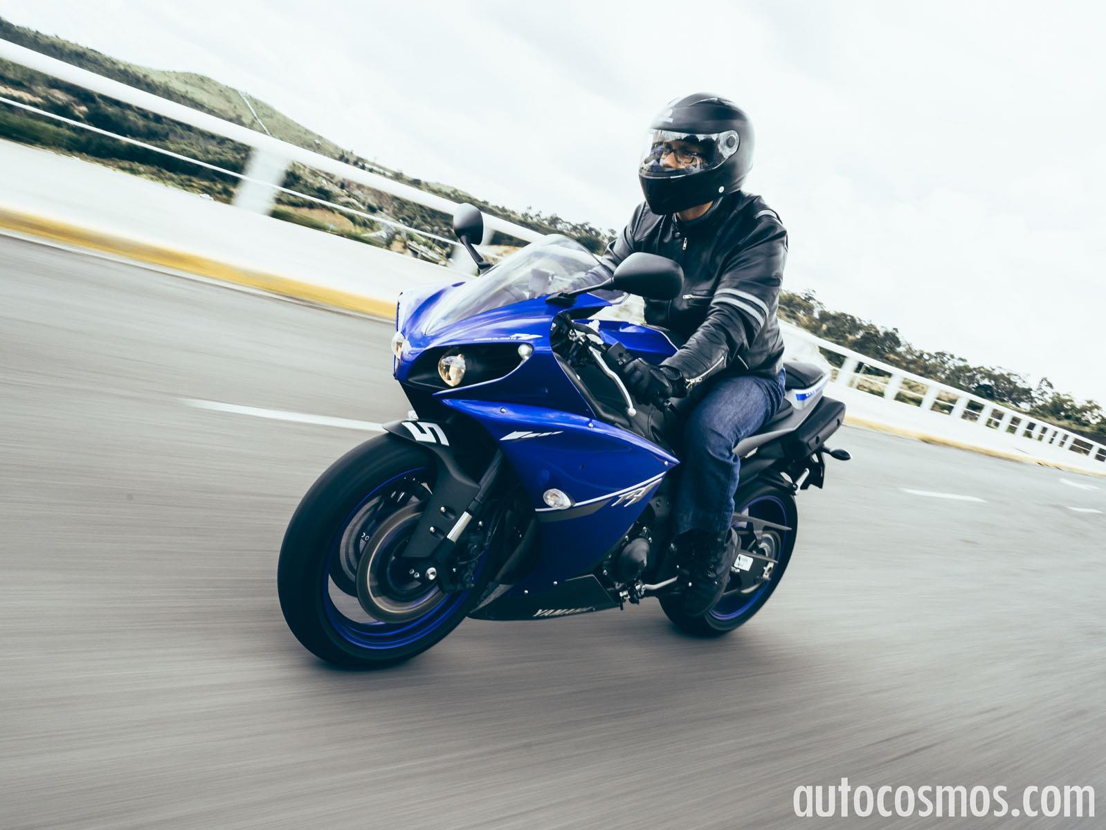 Yamaha R Blue