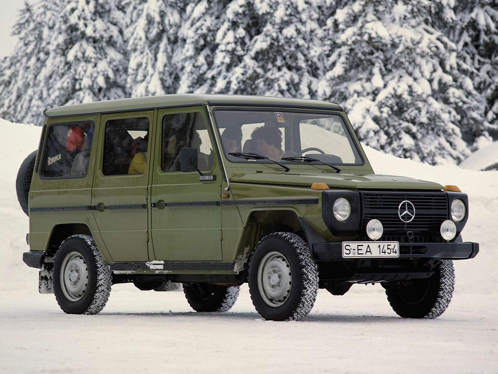 Top 10 los veh culos 4x4 que cambiaron al mundo for Mercedes benz of wilmington de