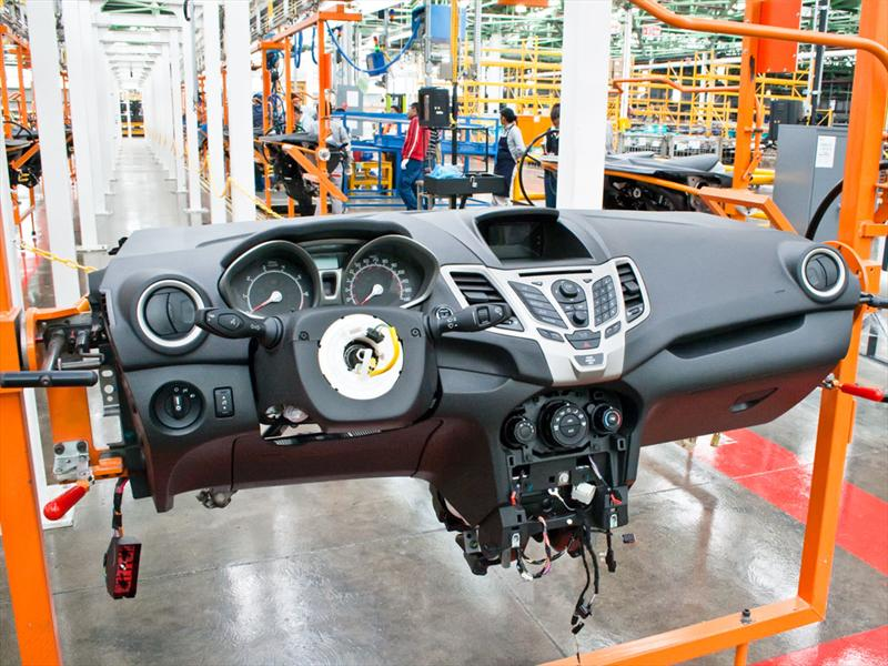 Conoce a fondo cómo se fabrica el Ford Fiesta 2011