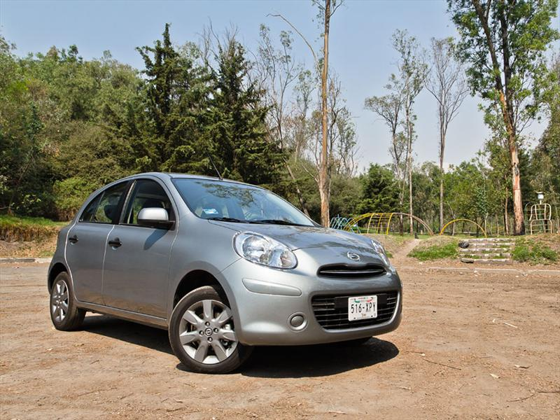 Nissan March 2011 prueba