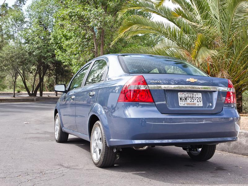 Chevrolet Aveo 2012 prueba