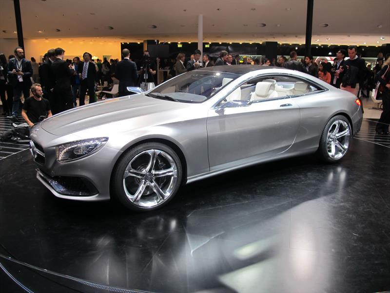 Mercedes Benz Concept Clase S Coupé