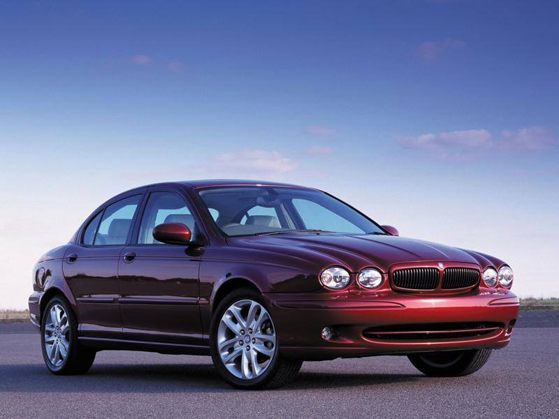 Top 10: Jaguar X type