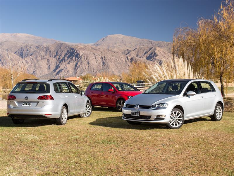 Gama Volkswagen Golf en Cafayate