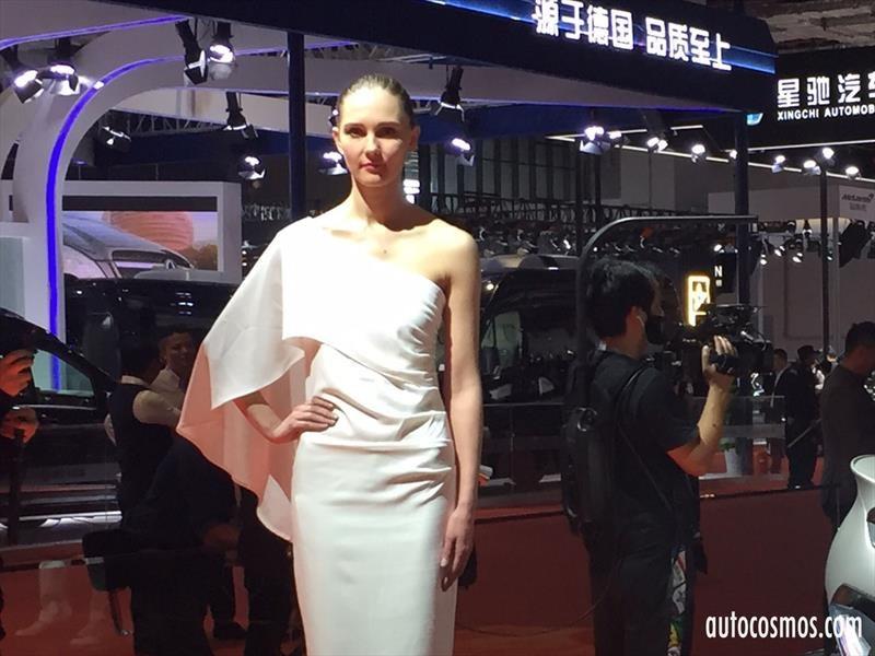 Las chicas del Salón de Shanghái 2017