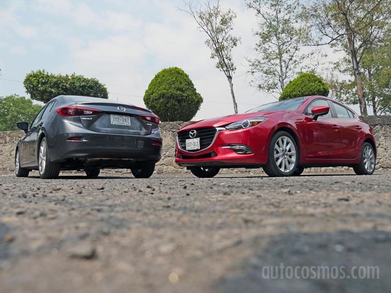 Mazda 3 Sedán VS Mazda 3 Hatchback