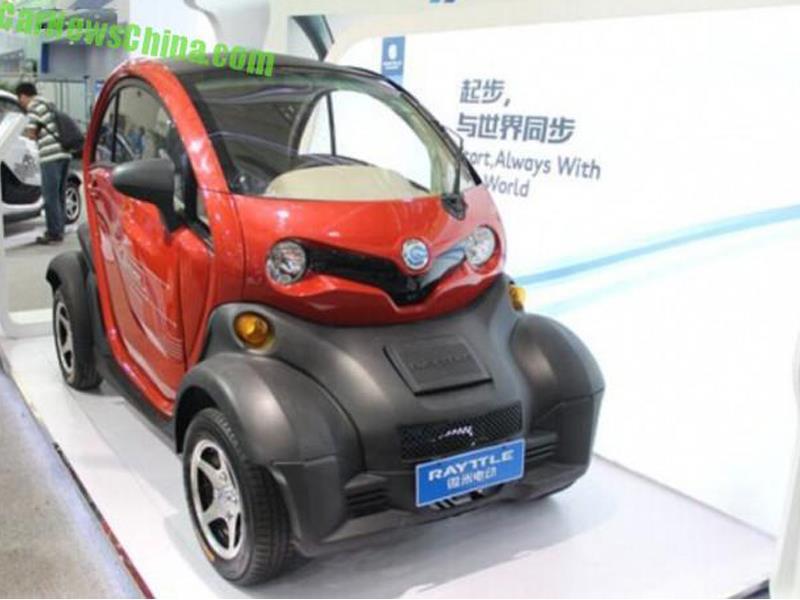 Copia China del Renault Twizy