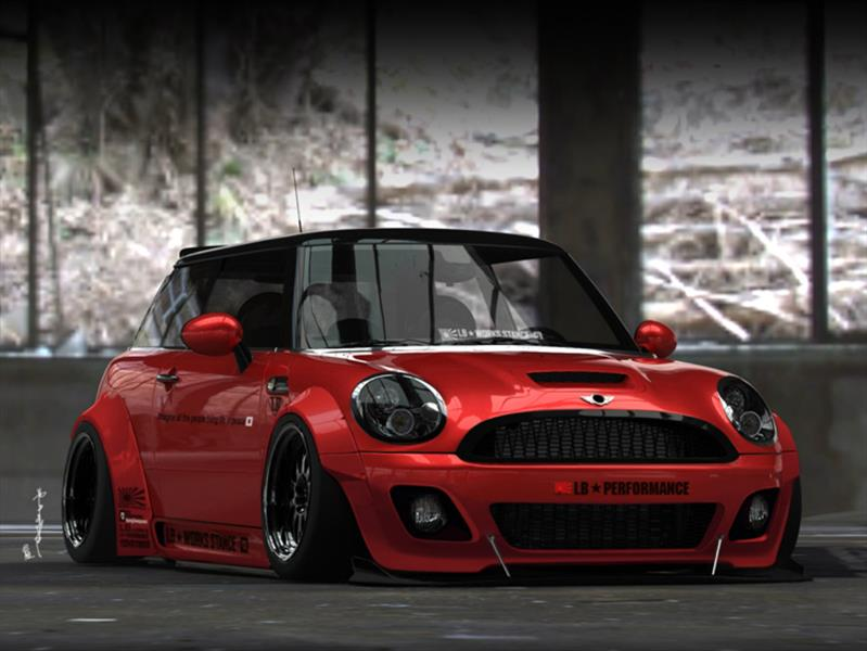 MINI Cooper por Liberty Walk