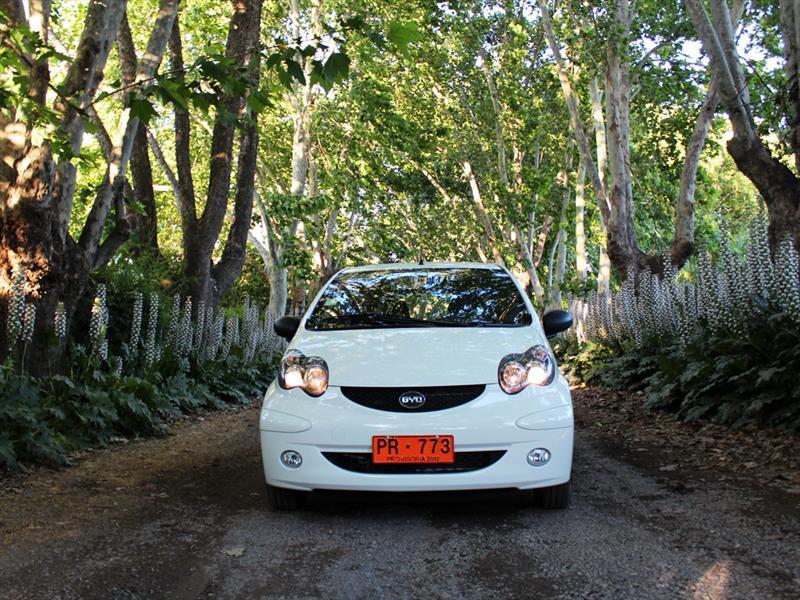 BYD F0 GLXi Smart Key Prueba de Manejo