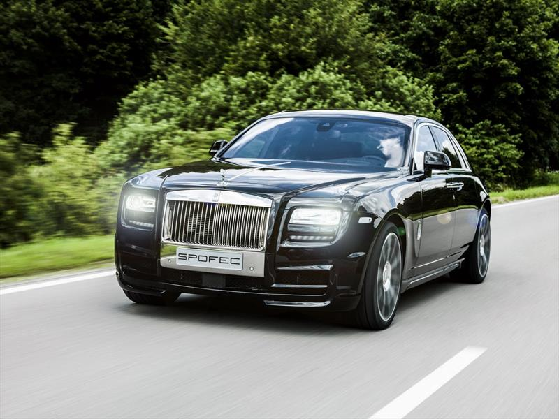 Rolls Royce Ghost modificado por SPOFEC