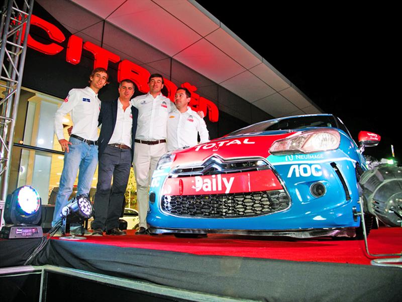 Equipo Rally DS Automóbiles 2015