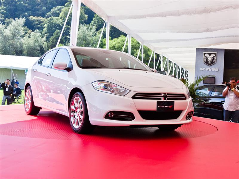 Dodge Dart 2013 en el Concurso de la Elegancia