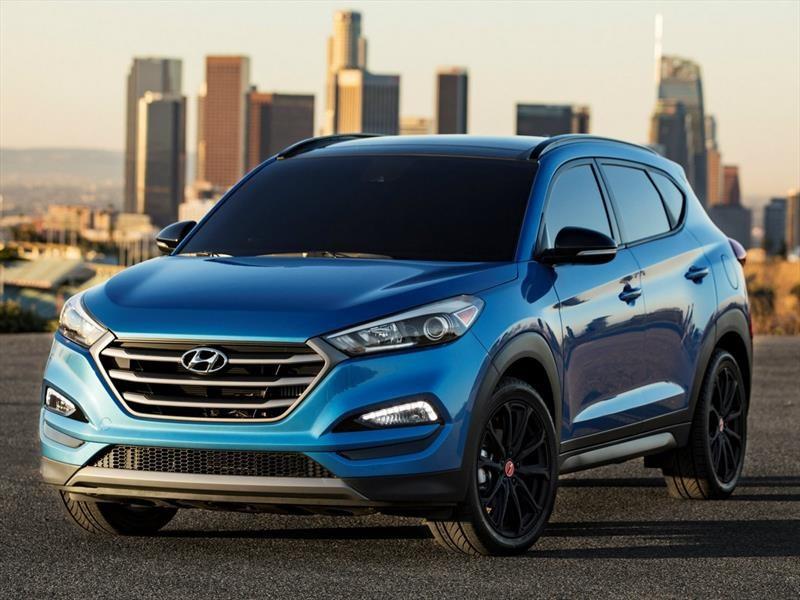 Hyundai Tucson Night 2017
