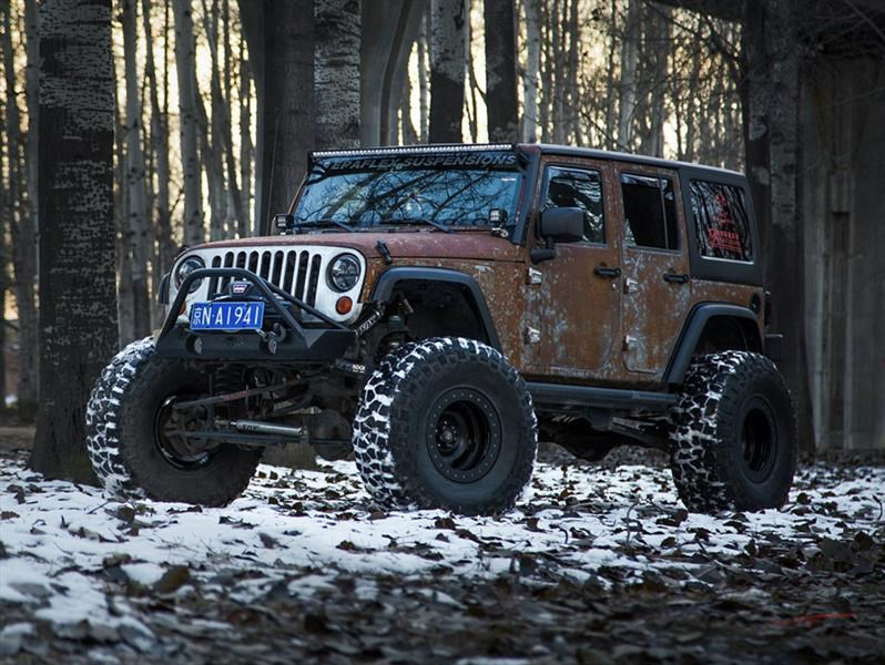 Jeep Wrangler Hunting Unlimited por Vilner