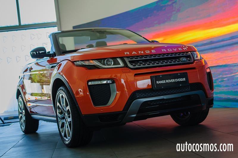 Range Rover Evoque Convertible - Debut en Chile