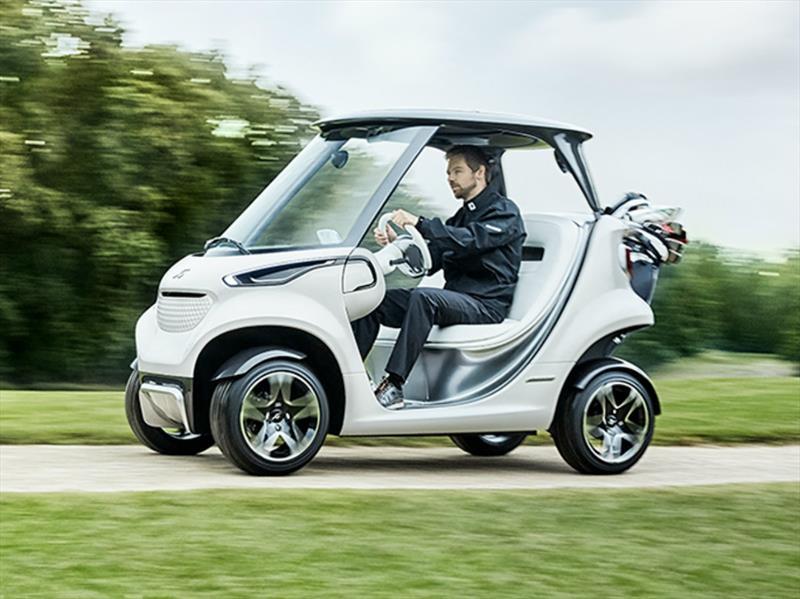 Mercedes-Benz Style Edition Garia Golf Car