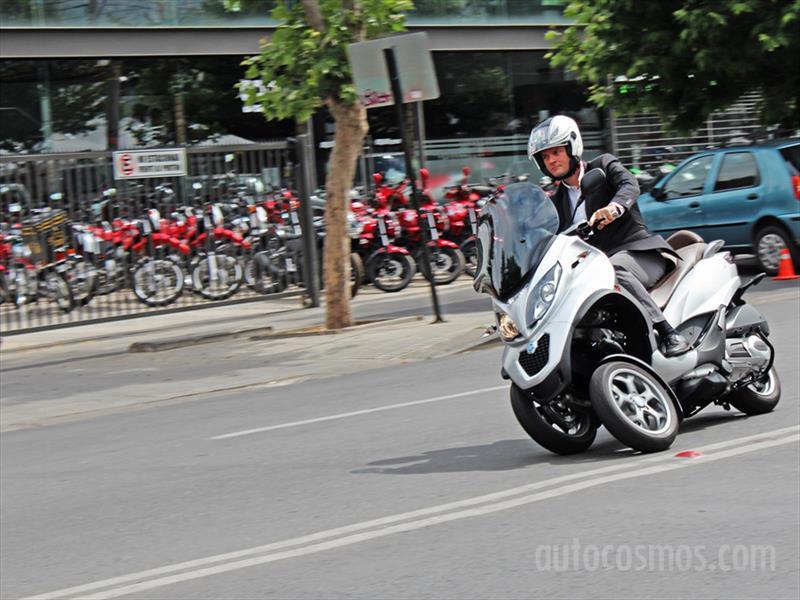 Piaggio MP3 en Chile: Scooter de tres ruedas