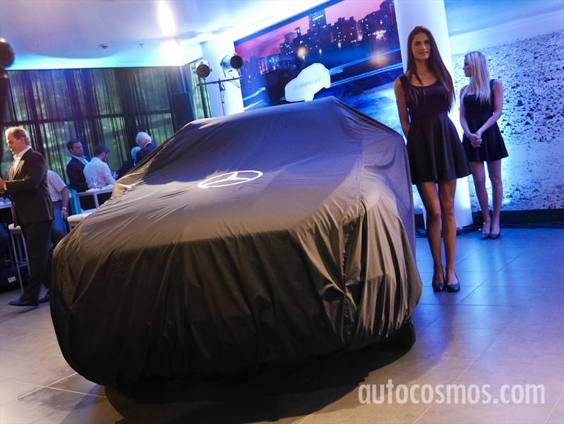 Presentación Mercedes-Benz GLA en Argentina