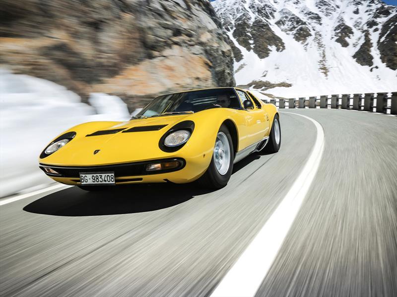 Lamborghini celebra el 50 aniversario del Miura