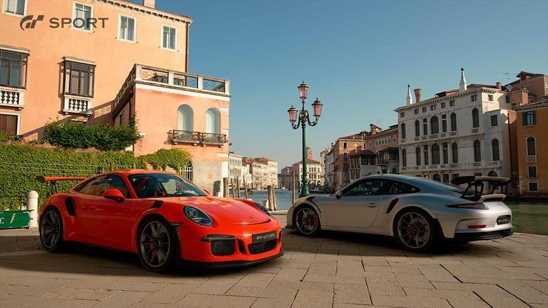 Porsche en Gran Turismo Sport