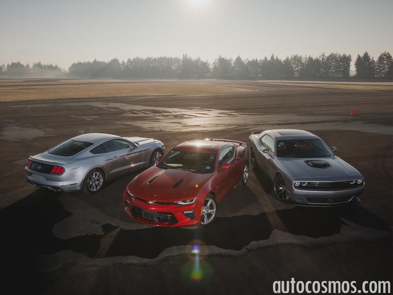 Comparativa: Mustang vs Camaro vs Challenger
