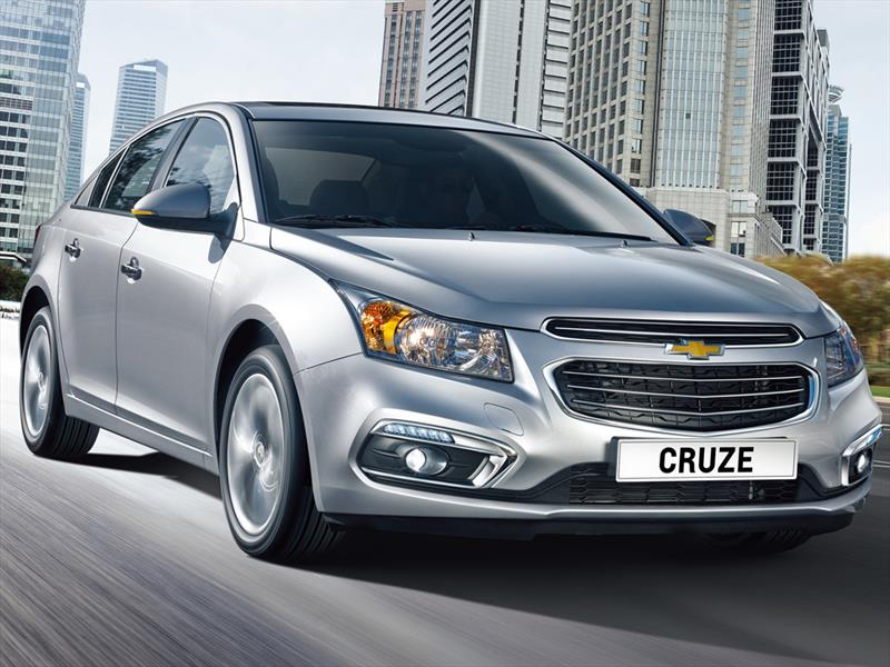 Chevrolet Cruze lll 2015 Inicia venta en Chile