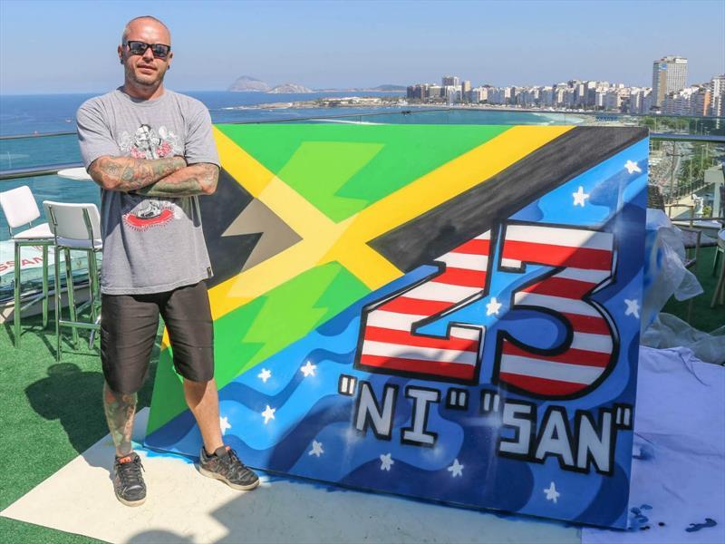 CH2 y el arte del grafiti en Río 2016