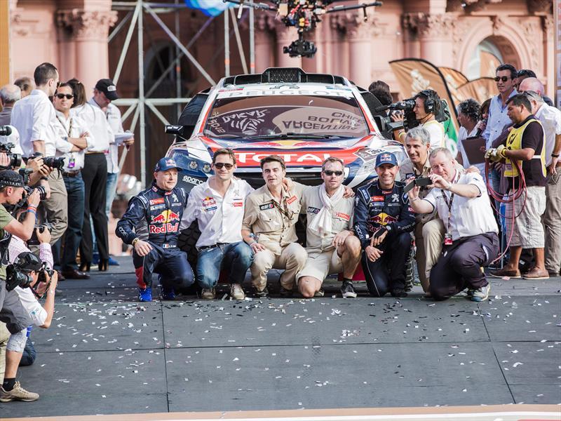 Dakar 2015: Revisión técnica y arranque