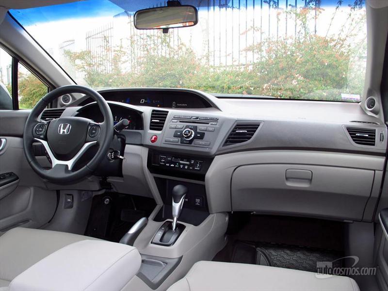 Honda Civic 2012 LXS Automático a prueba