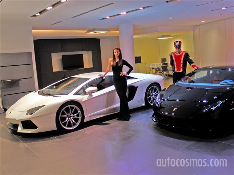 Galería: Bentley y Lamborghini Estreno en Chile