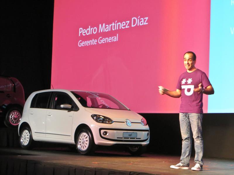 Volkswagen up! Presentación en Argentina