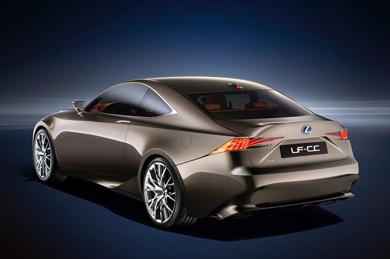 Lexus LF-CC Concept en el Salón de París 2012