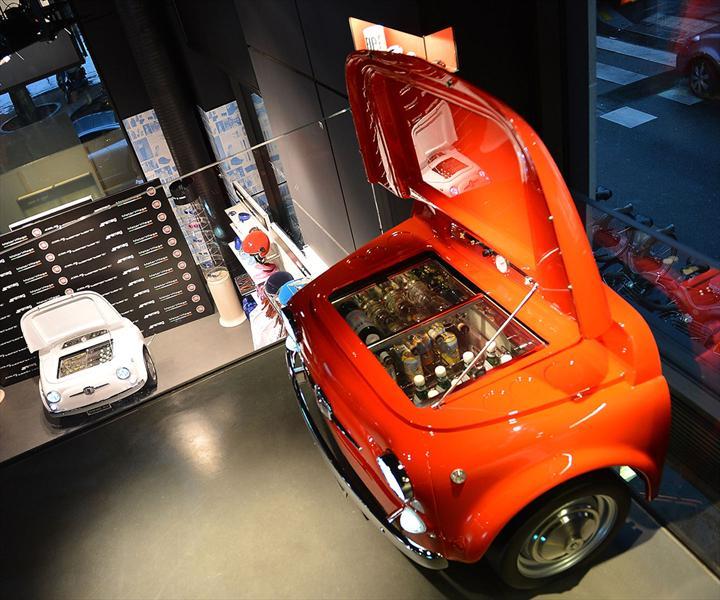 Hielera Smeg FIAT 500