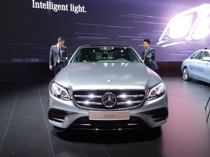 Nuevo Mercedes-Benz Clase E en Detroit