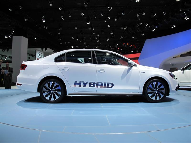 Volkswagen Jetta Híbrido en Detroit 2012