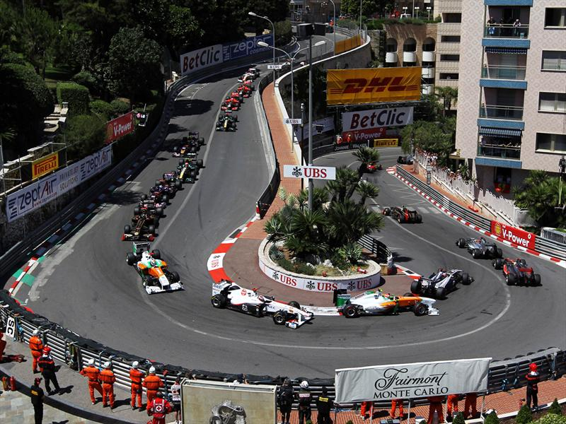 Circuito Monaco : Circuito de mónaco autocosmos