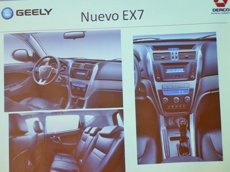 Geely Emgrand EX7 Lanzamiento en Chile