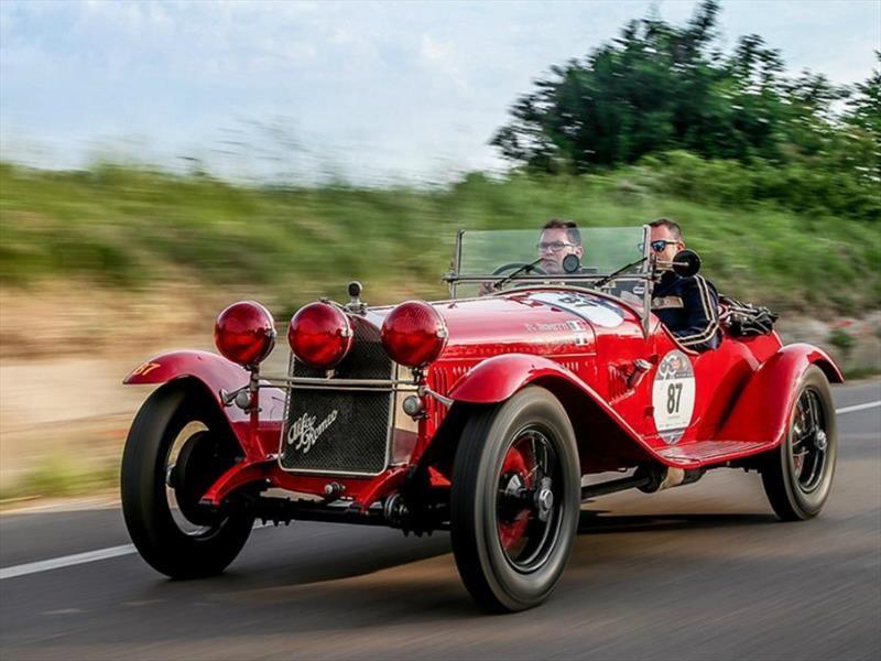 Alfa Romeo en la Mille Miglia 2017