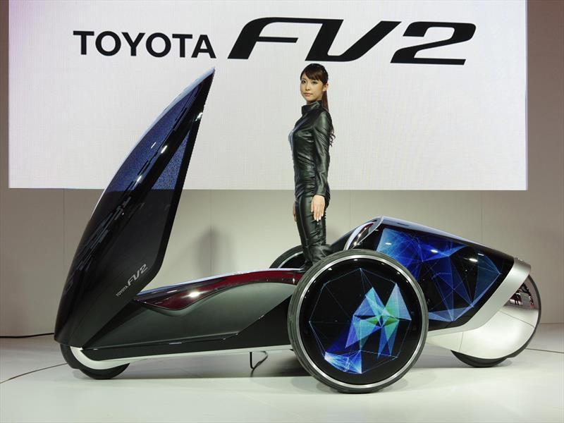 Toyota FV2, el auto que se controla con el cuerpo