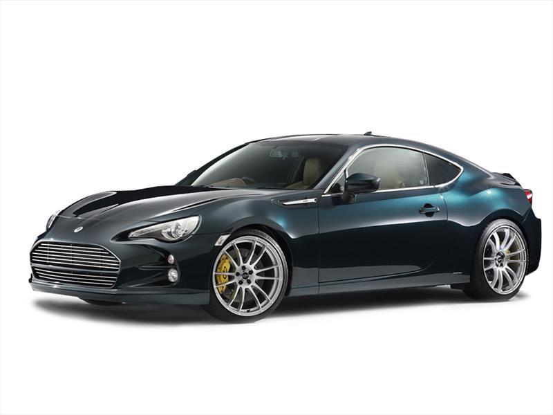 Toyota GT86 estilo Aston Martin Vantage