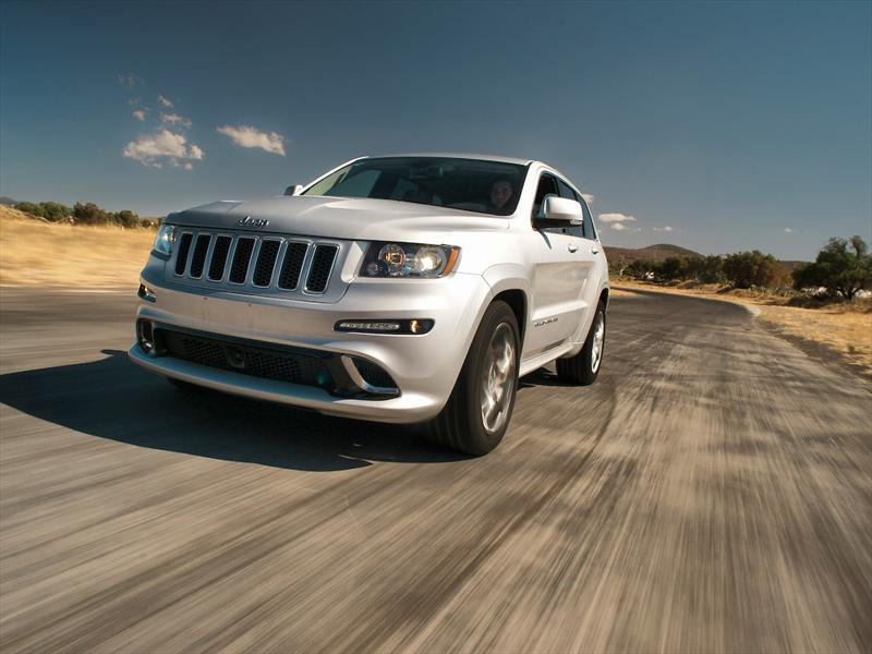 Jeep Grand Cherokee SRT8 2012 prueba