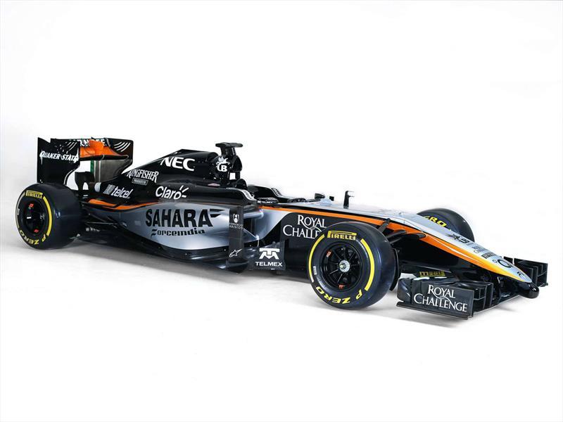 Force India 2015 y Williams FW37