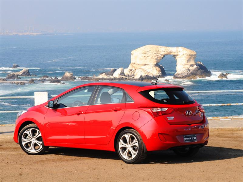Hyundai i30 2012. Lanzamiento en Chile