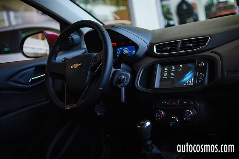 Chevrolet Prisma 2017 - Lanzamiento en Chile