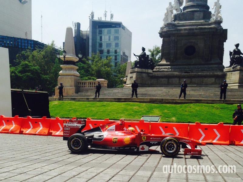 Ferrari Street Demo en la CDMX