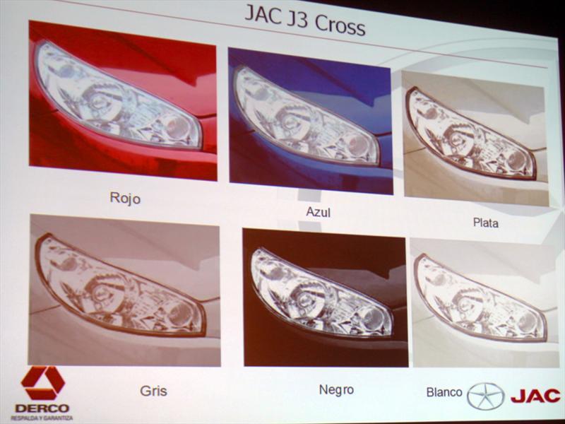 JAC J3 Cross Lanzamiento en Chile
