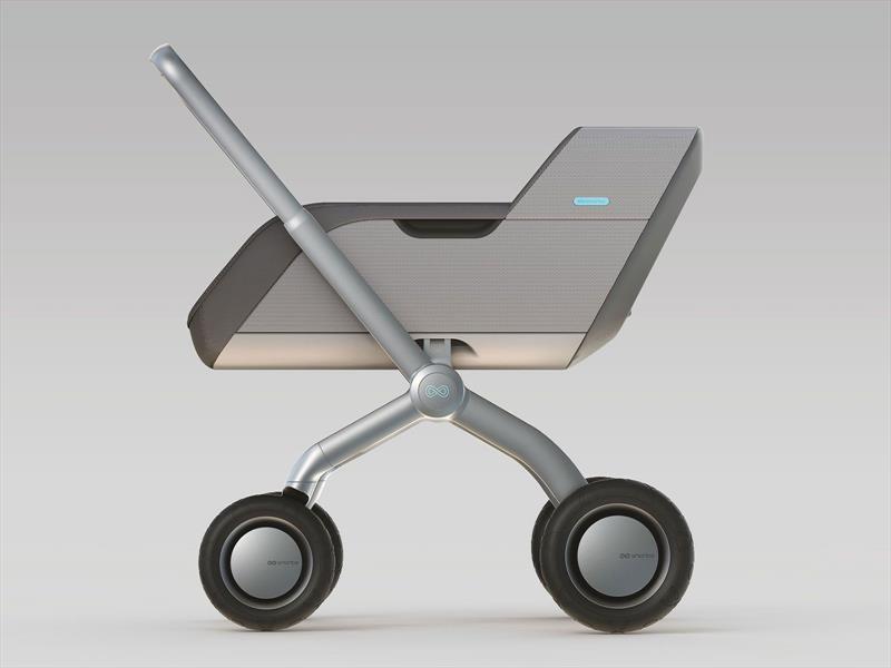 """Smartbe, el cochecito para bebés de """"manos libres"""""""