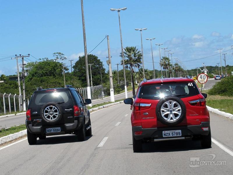 Ford EcoSport, ya la manejamos en Brasil