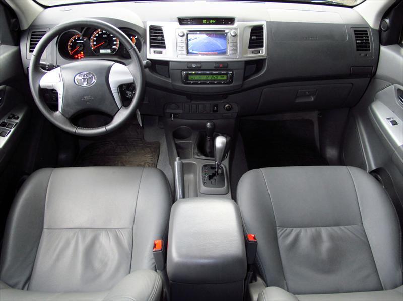 Toyota Hilux SRV a Prueba